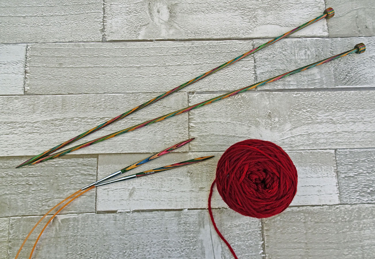How to Knit - Absolute Beginner Knitting, Lesson 1 - YouTube