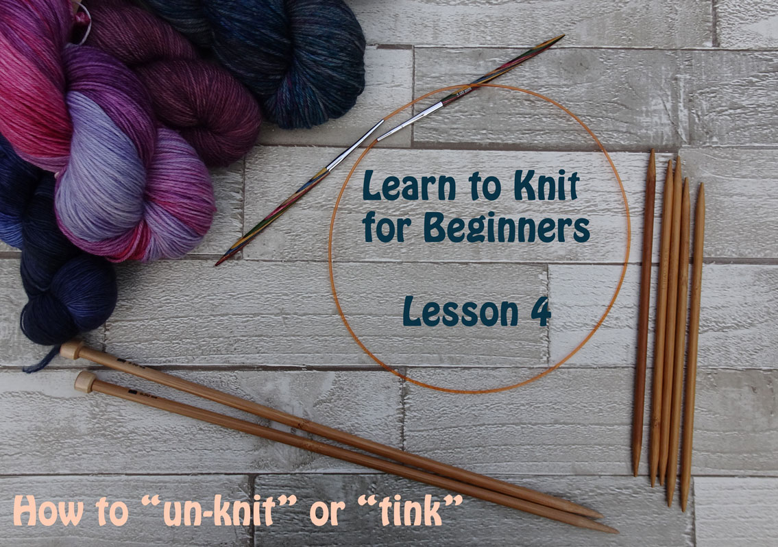 Learn To Knit For Beginners Lesson 4 Easy Knitting